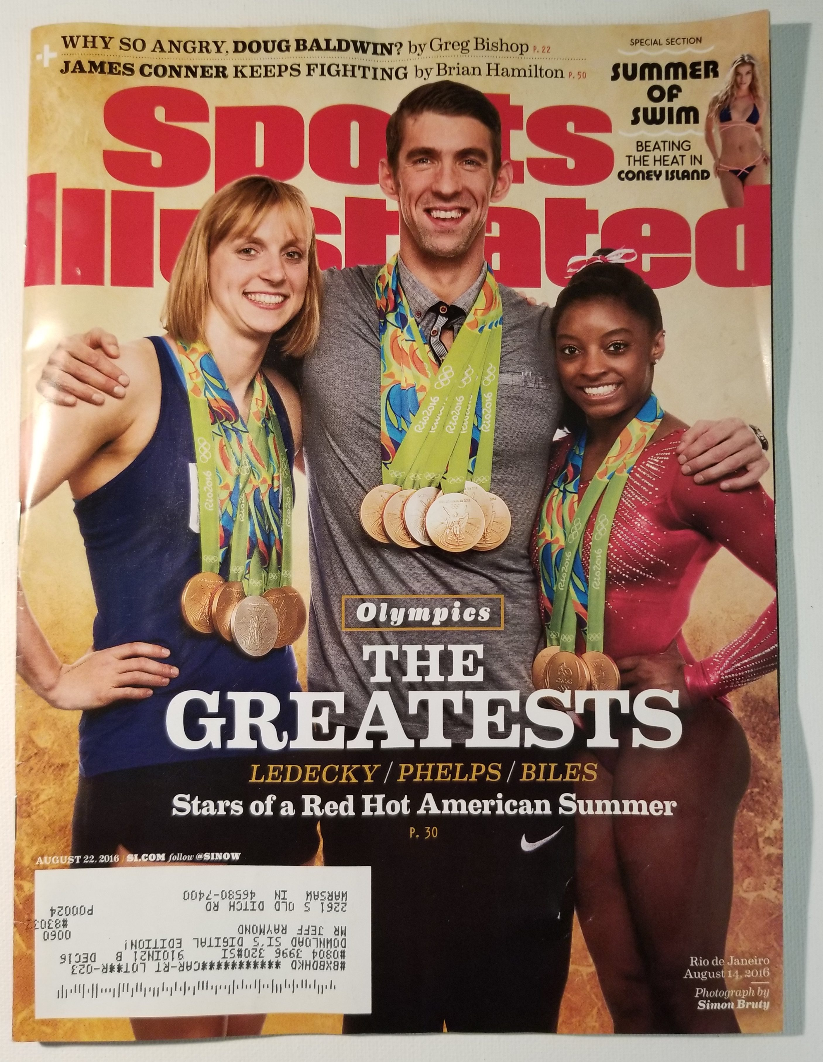 The Cheapest Price Sports Illustrated July August 2016 Double Issue Olympic Preview Meet Team Usa Sports Mem, Cards & Fan Shop